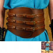 Roman Gladiator Leather Kidney Belt